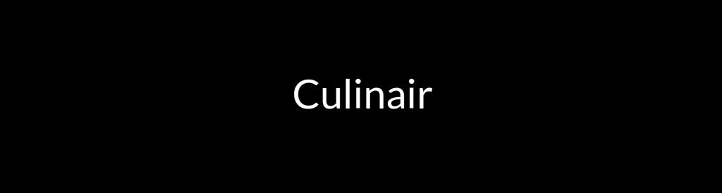 Culinair